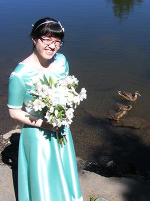 TK with ducks