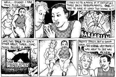 Dykes to Watch Out For comic strip