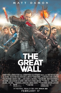 Movie poster for Great Wall