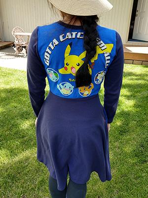 Pokemon Dress - Back