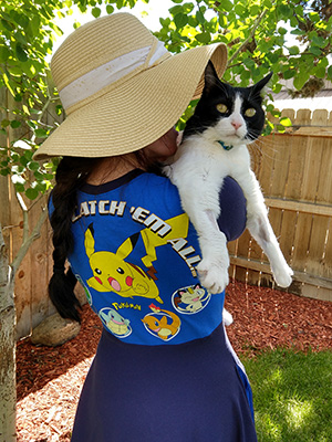 Pokemon Dress with Cat