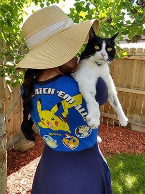 Pokemon Dress with Cat