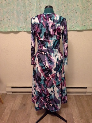 Wrap Dress - Back