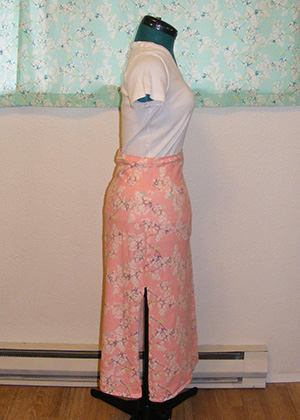 Yinghua Jersey Skirt - Side